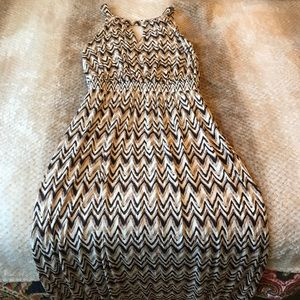 Gently worn Soma maxi dress